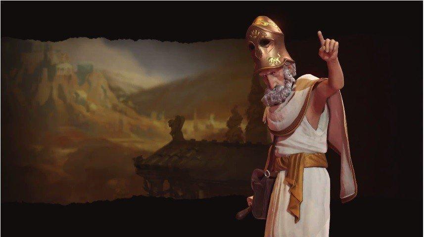 Civilization VI contará con Pericles como líder del pueblo Griego