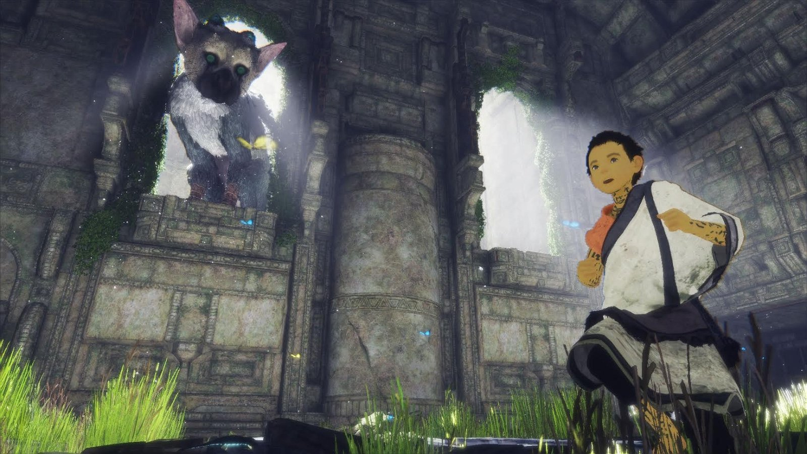The Last Guardian muestra dos nuevos gameplay