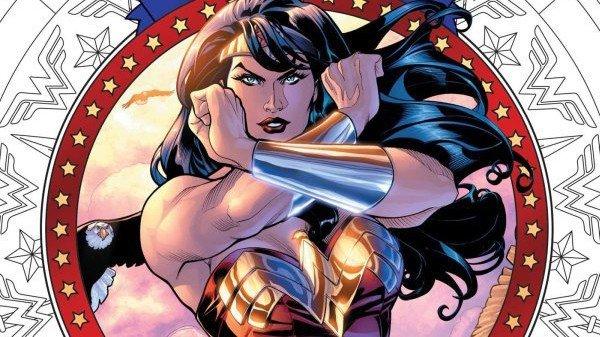 Wonder Woman estrena su propio libro de colorear para adultos
