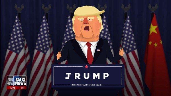 Donald Trump tendrá su propio juego para móviles este fin de semana