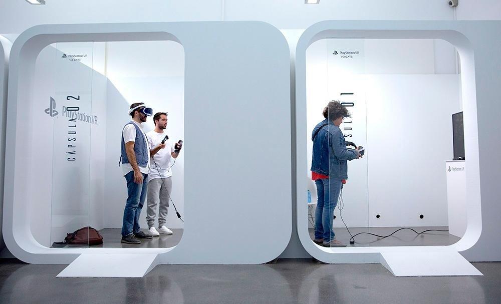 PlayStation VR se puede probar gratis en la VR Gate de Madrid