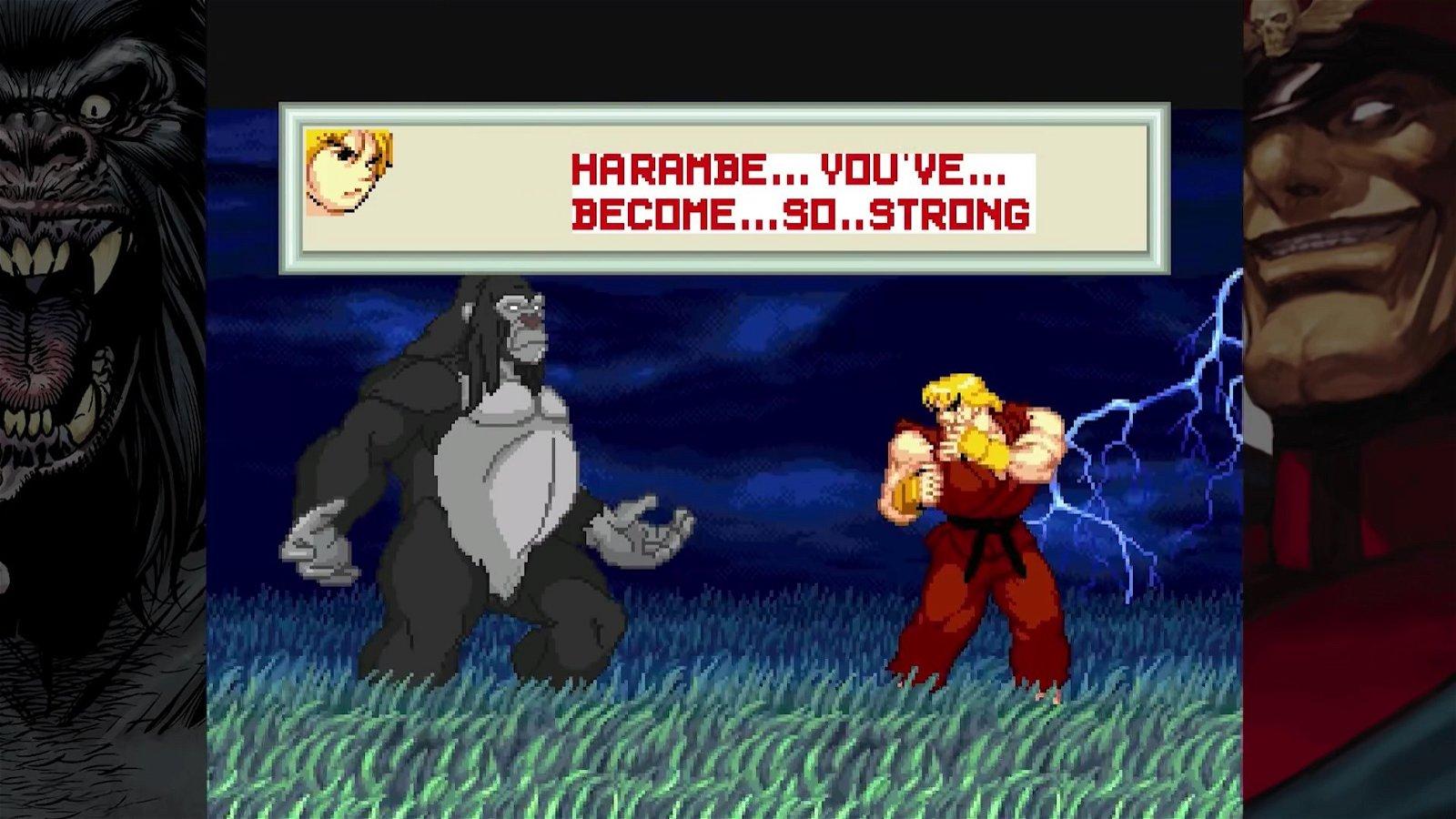 El gorila asesinado Harambe protagoniza un videojuego al estilo Street Fighter