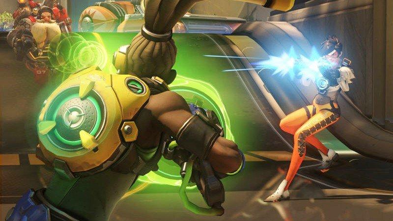 Overwatch: Un jugador utiliza una mesa de mezclas para mover a Lucio