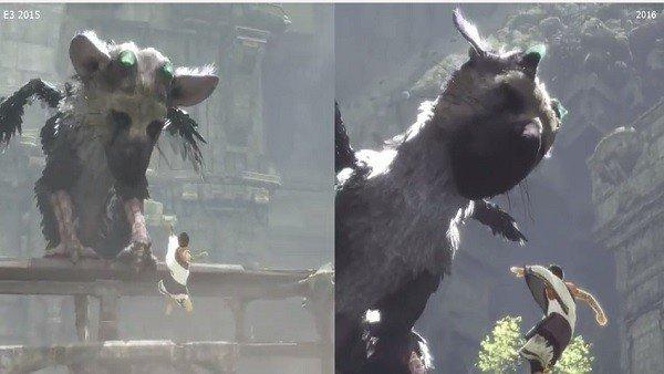 The Last Guardian: Así han cambiado sus gráficos desde el E3 2015