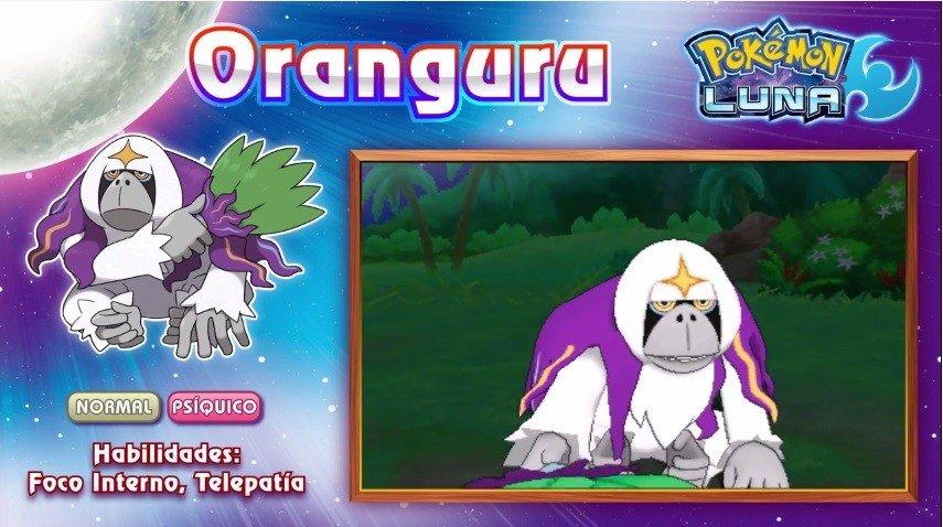 Pokémon Sol y Luna presenta a sus Pokémon exclusivos