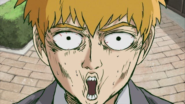 Reigen, del anime Mob Psycho 100, ya es un meme