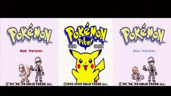 Pokémon: Así son todas las intros de los juegos que ha habido hasta la fecha