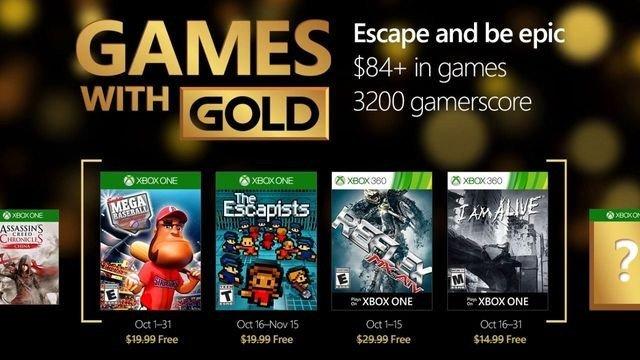 Games with Gold desvela sus juegos gratuitos para octubre de 2016