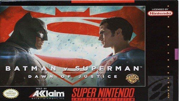Imaginan varias series y películas actuales como cartuchos de Super Nintendo