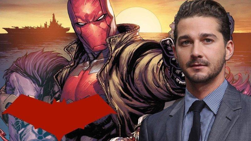 Red Hood: Los fans de DC quieren a Shia LaBeouf para el papel