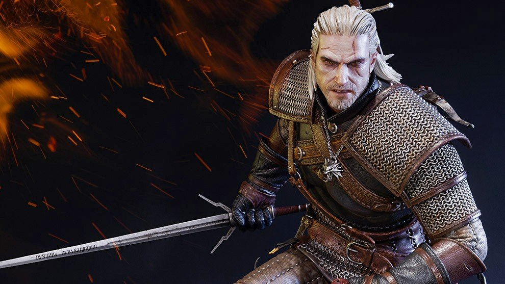 The Witcher 3: Geralt de Rivia ya tiene la figura que merecía