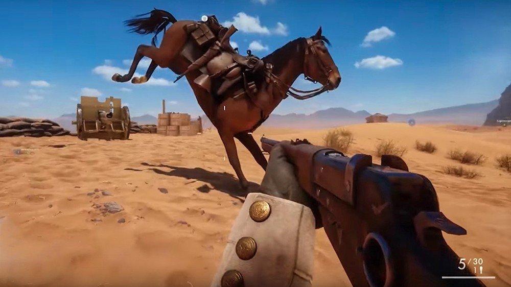 Battlefield 1 tiene un tráiler parodia con todos sus glitches