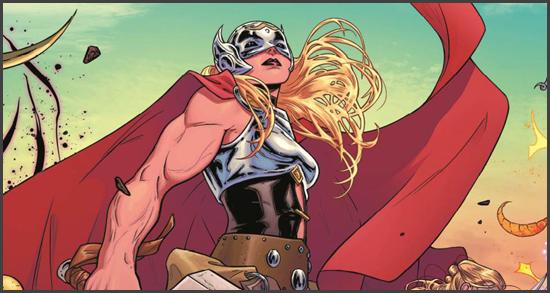 La Poderosa Thor: el Mjölnir tiene una nueva habilidad