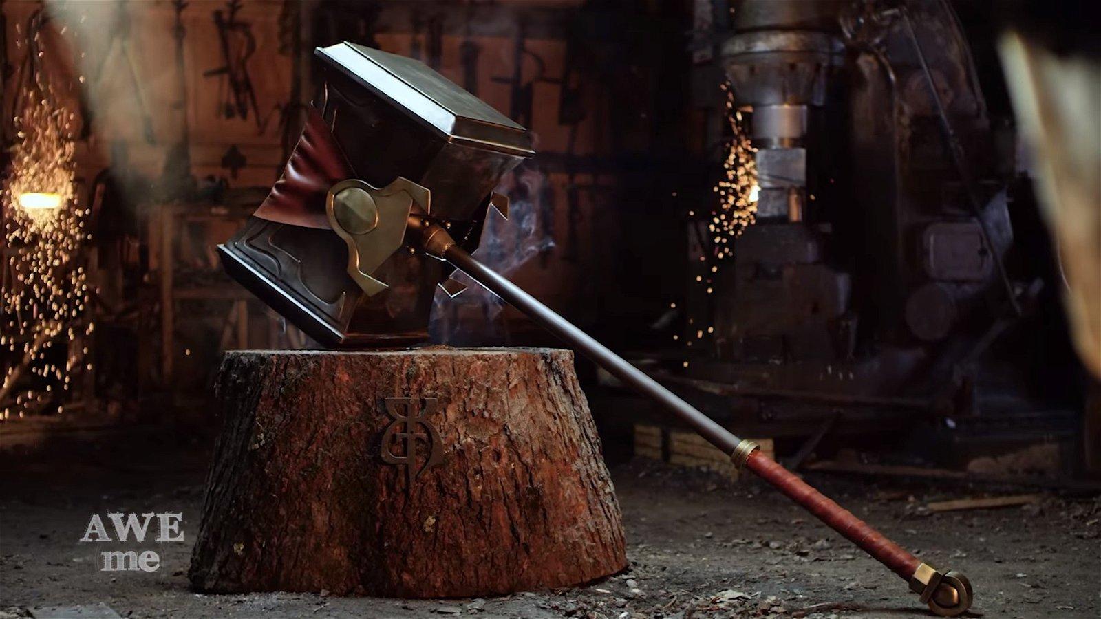 League of Legends: Forjan el martillo de Poppy en la vida real