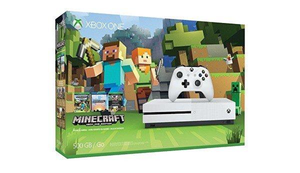 Xbox One S tendrá un nuevo pack junto a Minecraft