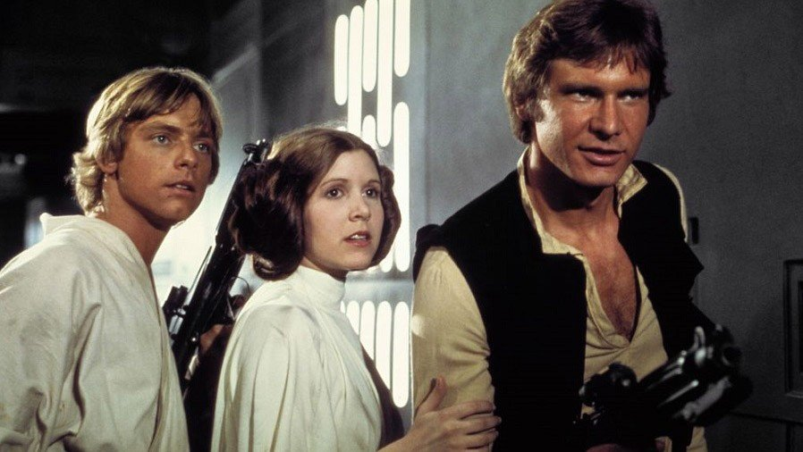 Star Wars: Una Nueva Esperanza muestra la reacción del público al final de la película en 1977