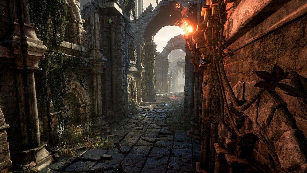 Dark Souls 3 es recreado con Unreal Engine 4