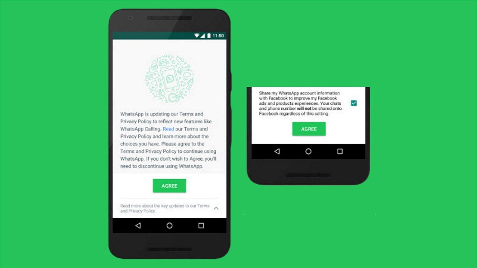 WhatsApp obliga a aceptar sus nuevos términos para seguir funcionando