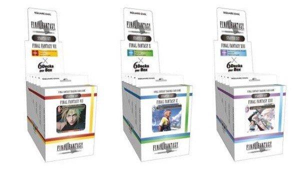 Final Fantasy estrenará su juego de cartas en occidente el 28 de octubre