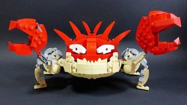 Construye varios Pokémon con piezas LEGO