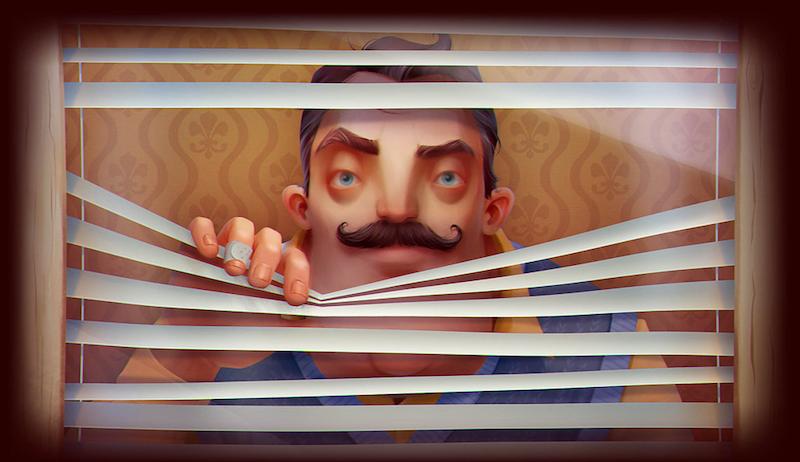 Hello Neighbor es el juego de terror que aprende de cada uno de tus movimientos