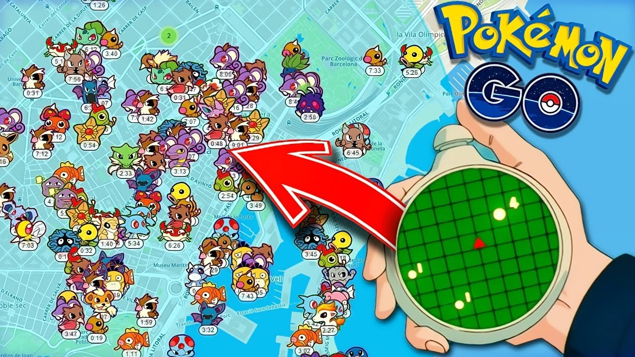 Pokémon GO convierte la aparición de Pokémon en algo aleatorio