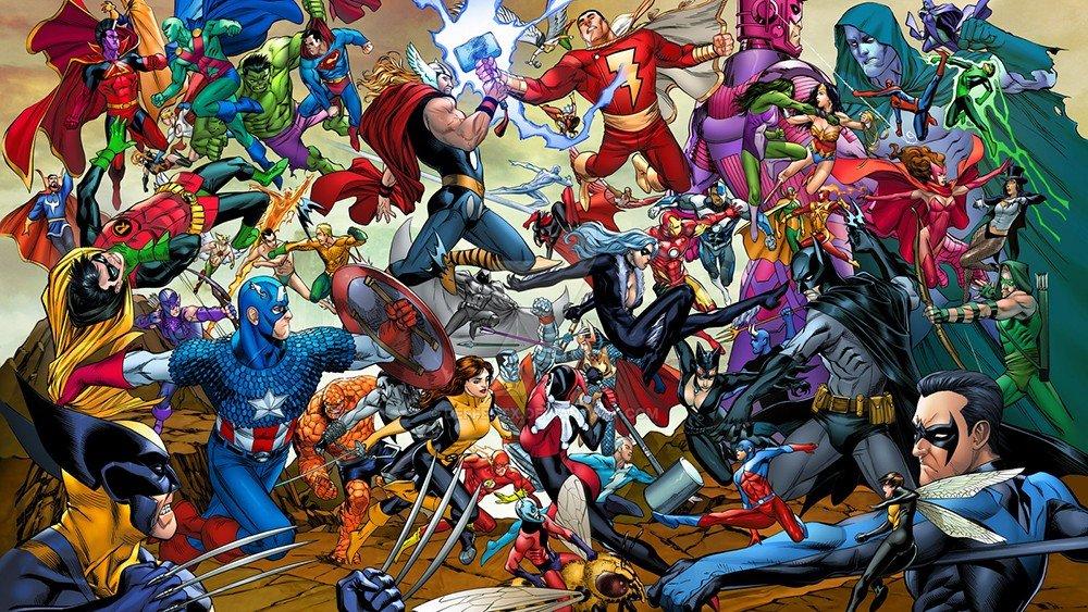 Marvel y DC Comics tienen superhéroes extrañamente similares a lo largo de su historia