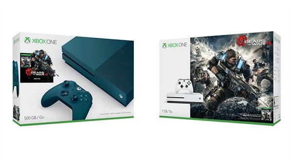 Gears of War 4 tendrá un nuevo Bundle con Xbox One S