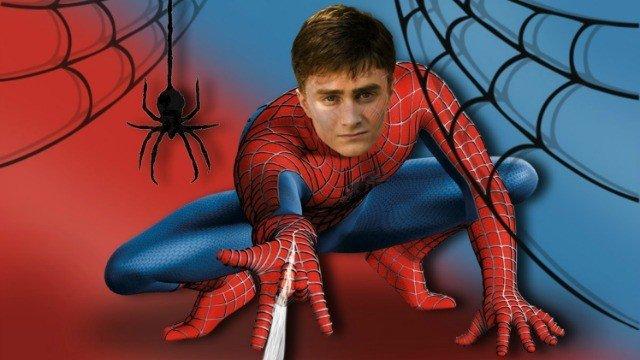 Daniel Radcliffe quería ser Spiderman