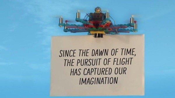 Ya puedes construir tu propio dron con piezas LEGO