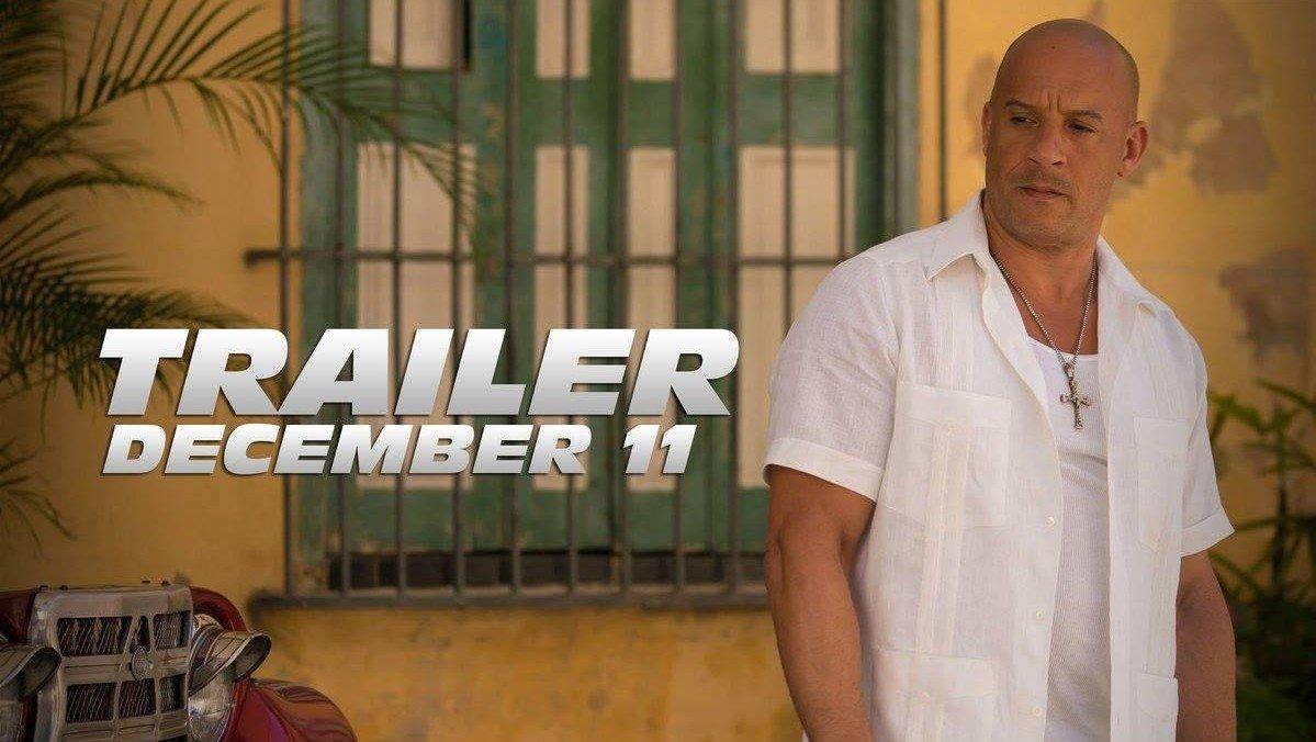 Fast & Furious 8 estrenará su primer tráiler en diciembre