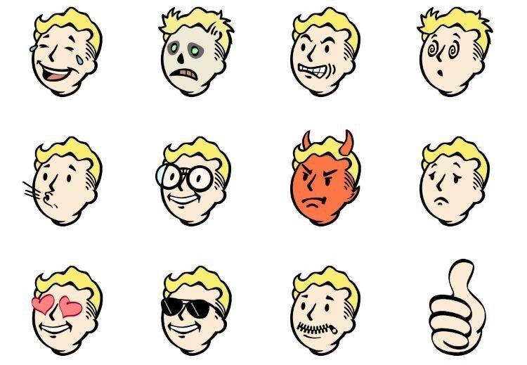 iMessage recibe stickers de Fallout 4