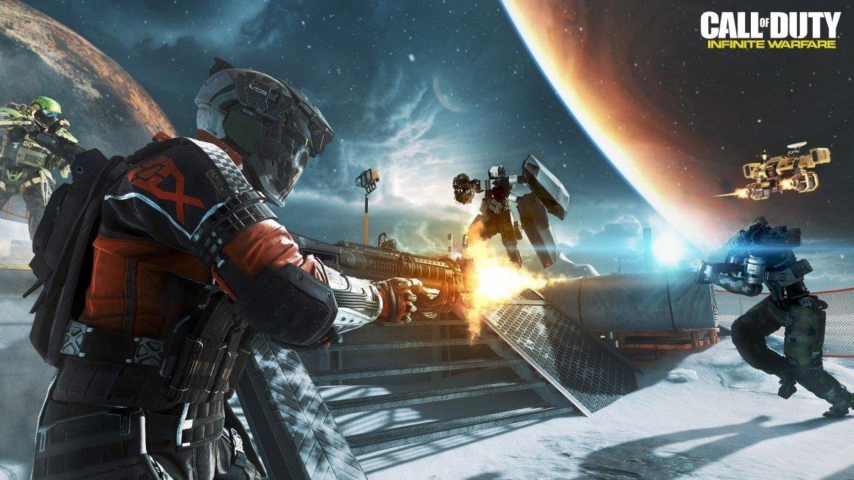 Call of Duty: Infinite Warfare desvela su gigantesco tamaño en disco