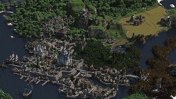 Minecraft recibe este gigantesco, obra de una sola persona tras cuatro años y medio