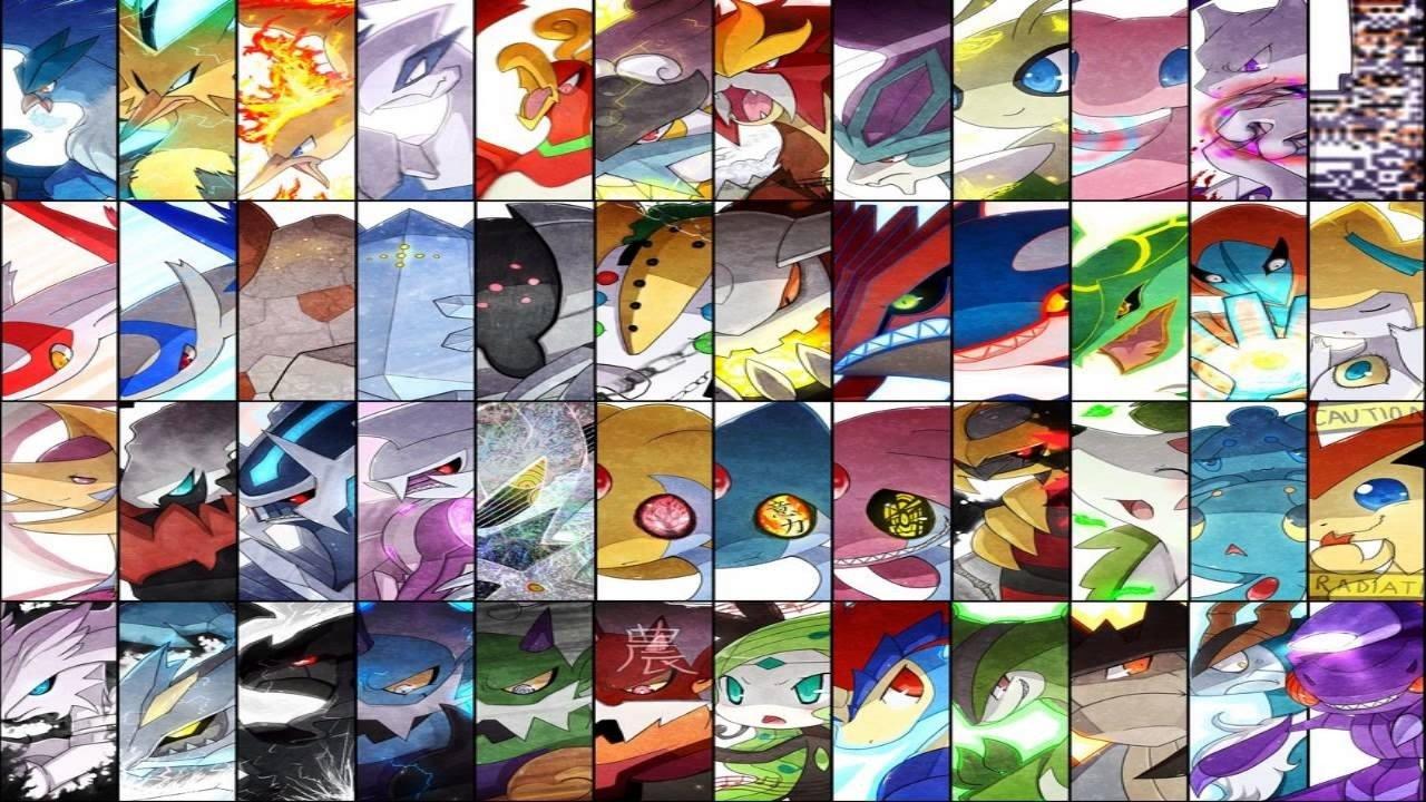 Los 20 Pokémon legendarios más poderosos