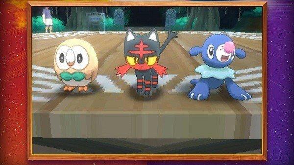 Pokémon Sol/Luna presenta las evoluciones de sus Pokémon iniciales