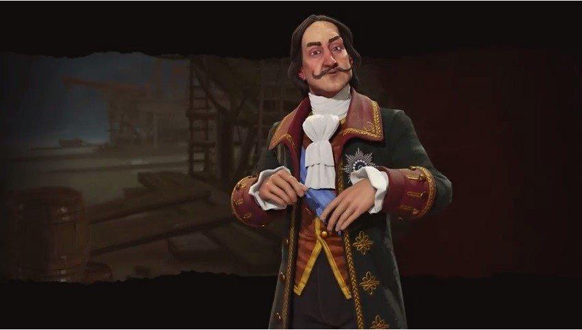 Civilization VI elige a Pedro el Grande para liderar a Rusia