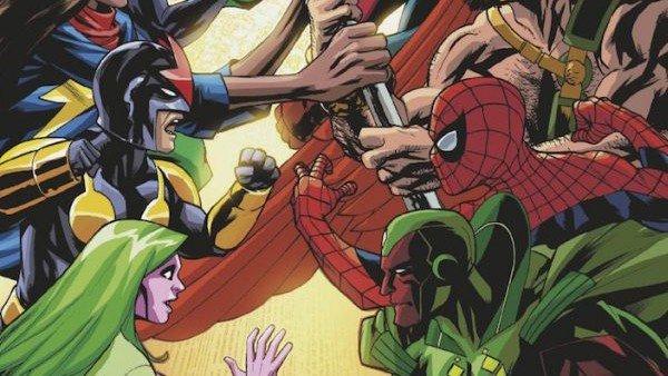 Marvel: el universo de los cómics está en guerra con nuevas portadas alternativas