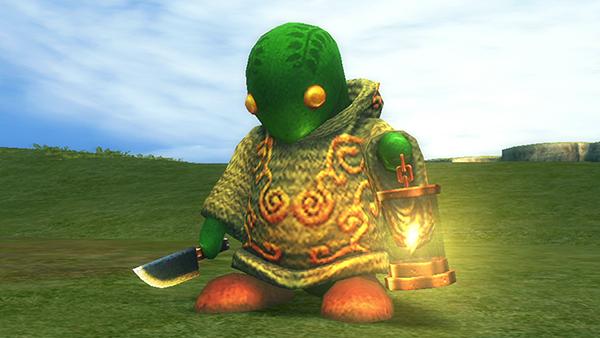 Los típicos enemigos que te encuentras en un JRPG