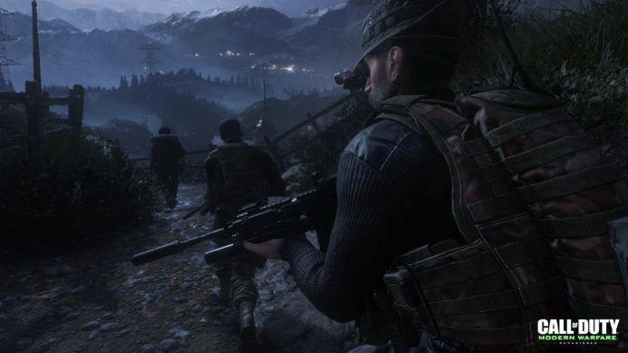 Call of Duty: Modern Warfare Remastered presenta cuatro nuevos mapas
