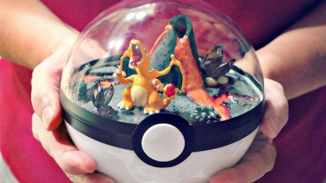 Tus Pokémon estarán como en casa en estos terrarios con forma de pokéball
