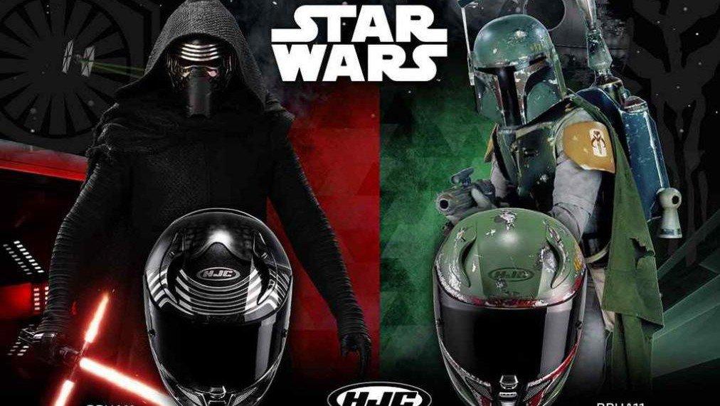 Star Wars ya tiene su propia línea de cascos de moto