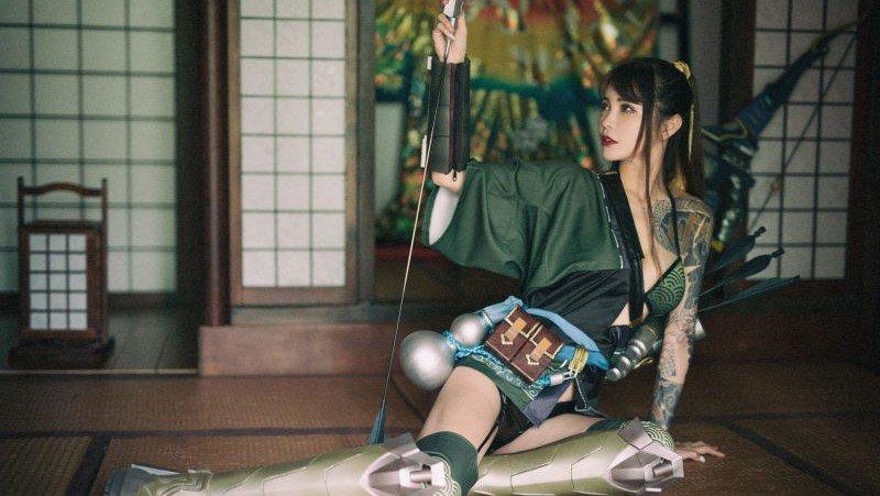Overwatch: Hanzo muestra su lado femenino en este cosplay