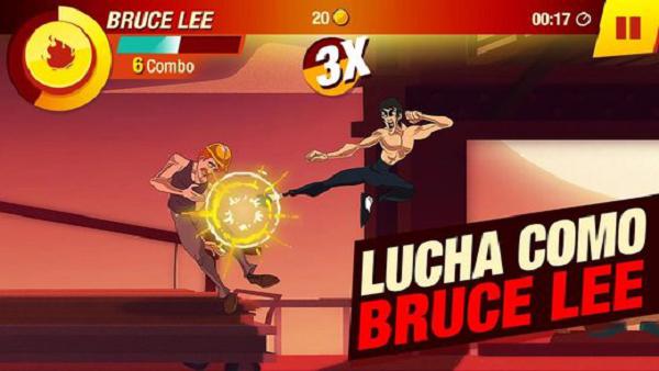 Bruce Lee protagoniza un juego para móviles