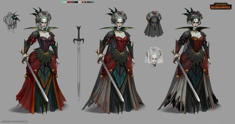 Total War: Warhammer muestra su arte conceptual
