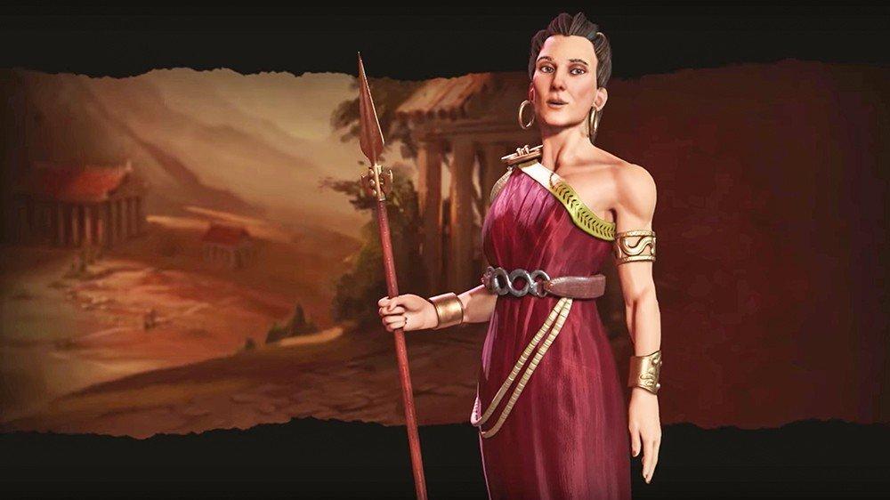 Civilization VI contará con Gorgo de Esparta para dirigir a Grecia