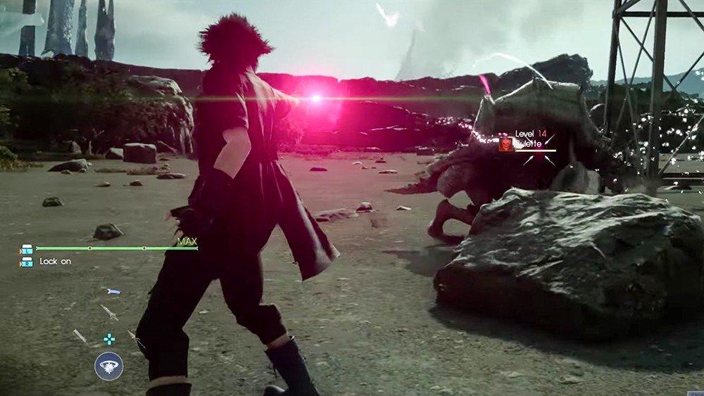 Final Fantasy XV comparte un vídeo de su hechizo de muerte
