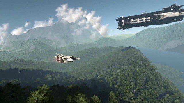 El sandbox espacial Dual Universe alcanza su meta en Kickstarter