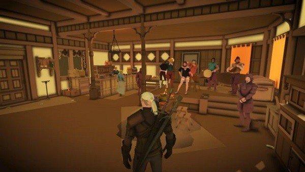 The Witcher 3 cuenta con un mod minimalista bastante curioso