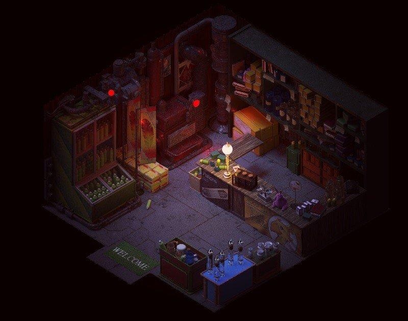 Final Fantasy VII: Un artista reimagina Wall Market, la tienda de los suburbios de Midgar